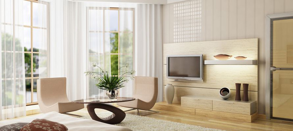 Elegant amenajat in stil modern cu mobila in culori deschise galerie ...